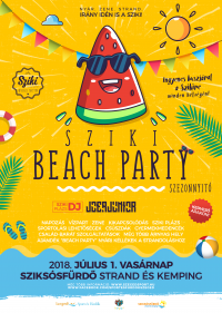 Sziki Beach party